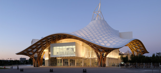 Centre pompidou metz header borderline for Architecture 21eme siecle